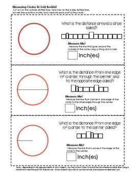 Measure-Me-Math Lapbook - Measuring Circles