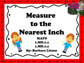Measure Me Mats: Measuring Fun! NO-PREP Printables