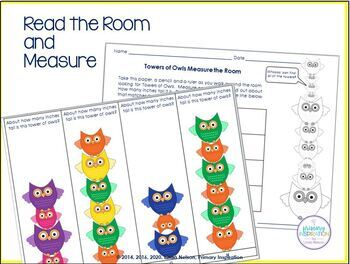 Measurement to the Nearest Inch Printables and Read the Room