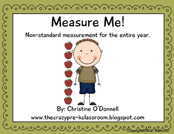 Measure Me! Non-standard measurement for the entire year!