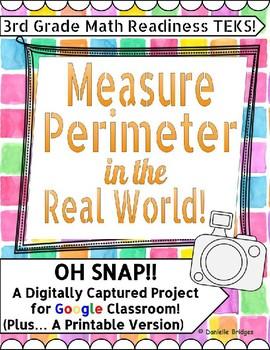 Measure Perimeter in the Real World: Digital & Printable Versions