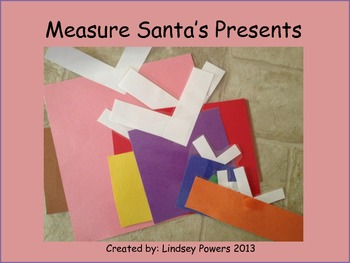 Measure Santa's Presents: Christmas Kindergarten Math