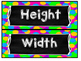Measure Spring Items Width and Length