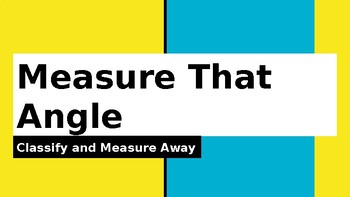 Measure That Angle