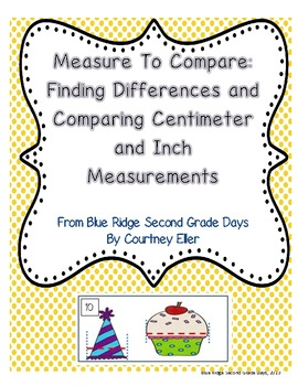 Measure To Compare Inches and Centimeters