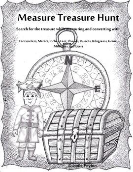Measure Treasure Hunt!  Measure and Convert