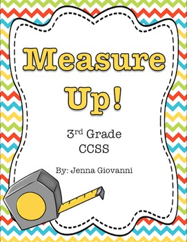 Measure Up! : A Measurement Unit 3.MD.B.4