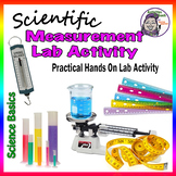 Measure Up! A hands on measurement lab for students. - Back to School Activity