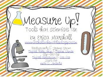 Measure Up! Science Tools Inquiry Lab