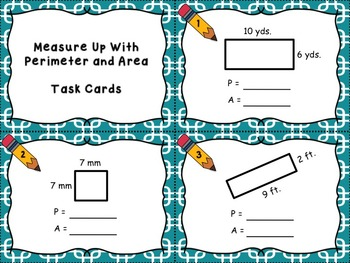 Measure Up With Perimeter and Area