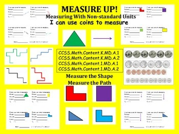 Measurement  Non Standard with coins
