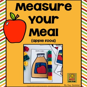 Measure Your Meal {Apple Food}