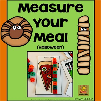 Measurement - Measure Your Meal {Halloween}