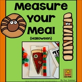 Measure Your Meal {Halloween}