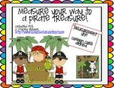 Measure Your Way To A Pirate Treasure: Measuring With Nonstandard Units
