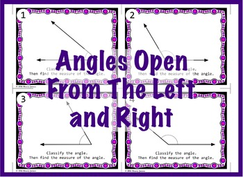 Measuring Angles and Classifying Angles