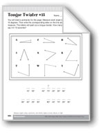 Measure and Classify Angles