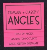 Measure and Classify Angles (Geometry Foldable)