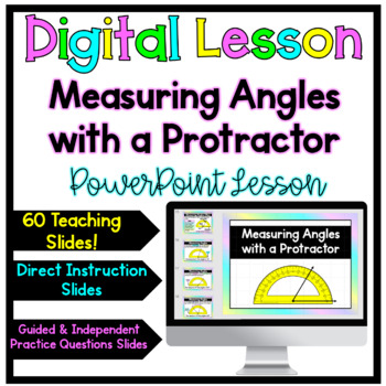 Measure and Draw Angles-Acute, Right, Obtuse, Straight PowerPoint