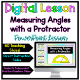 Measure and Draw Angles-Acute, Right, Obtuse, Straight