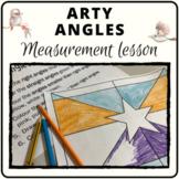 Angles art activity