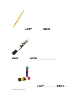 Measure everyday objects in your classroom