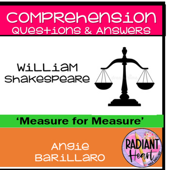 Measure for Measure Shakespeare Comprehension Questions & Answers
