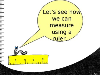 Measure in inches!