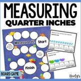 Measuring to the Nearest Quarter Inch Game