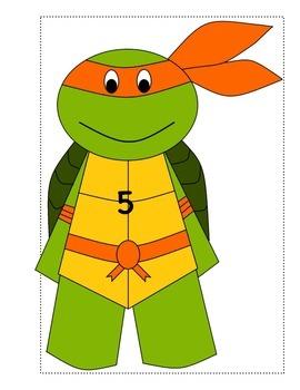 Measure it! Write The Room Ninja Turtle