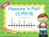 Measure 'n Plot! {2.MD.9}