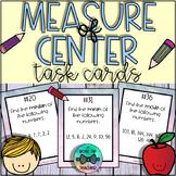 Measure of Center: Mean, Median, & Mode Task Cards