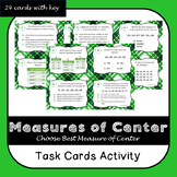 Measure of Center Task Cards
