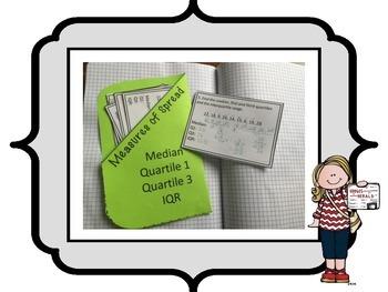 Measure of Spread Task Cards