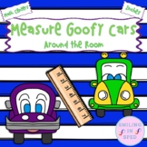 Measure the Goofy Cars Around the Room- Math Center