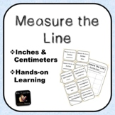 Measure the Line (Inches & Centimeters)