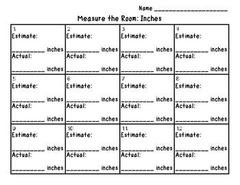 Measure the Room Scoot Freebie