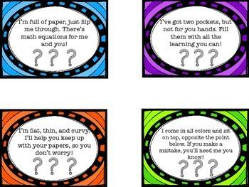 Measure the Room Scavenger Hunt Task Cards/ Center