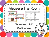 Measure the Room - Whole and half cm