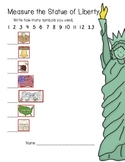 Measure the Statue of Liberty (non standard measuring/USA symbols)