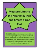 Measure to Nearest ½ Inch & Create Line Plot - Represent & Interpret data 3.MD.4