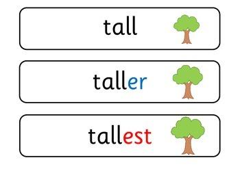 Measure vocabulary flashcards