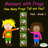Measure with Frogs - How Many Frogs Tall Are You?