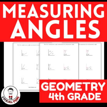 Measured Angles Grade 4