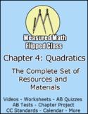 Measured Math Chapter 4 (Quadratics): The Complete Set of