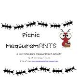 MeasuremANTS - Two Primary Non-Standard Measurement Activities
