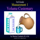 3rd Grade Measurement 1 - Customary Volume Powerpoint Lesson
