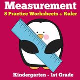 Measurement Kindergarten Worksheets | Measuring Kindergarten