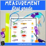 Measurement Worksheets | First Grade No Prep Printables