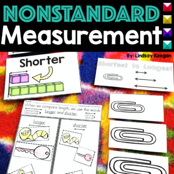 Measurement Activities for Primary Learners - Centers, Anchor Charts, Printables